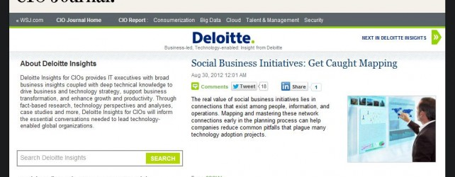 Deloitte Gets (More) Social