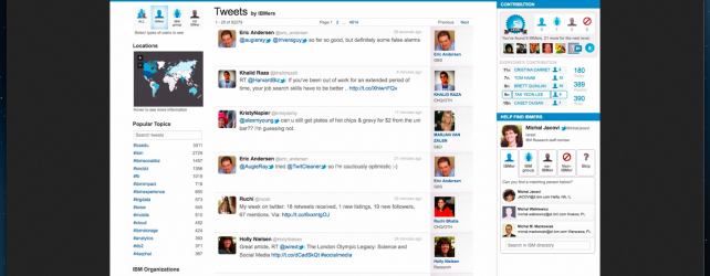 IBM Develops an Enterprise Twitter Solution, But Will Anyone Buy It?