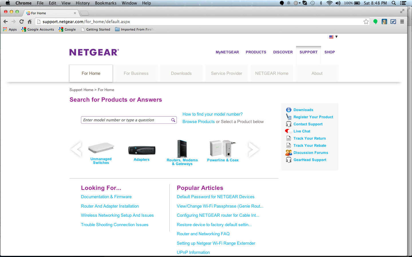 NetGear Support Community